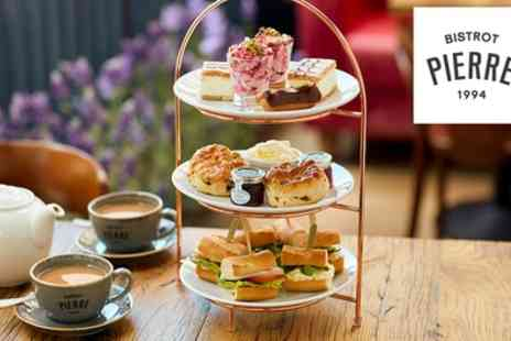 Bistrot Pierre - Afternoon Tea or Sparkling Afternoon Tea for Two - Save 0%