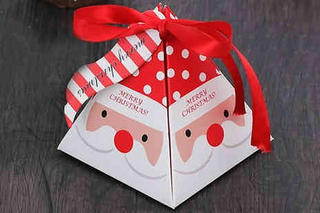 Wish Whoosh Offers - 10 Pack of Christmas Snack Paper Gift Parcels choose from 3 Options - Save 75%