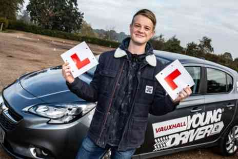 Young Driver - 30 or 60 Minute Taster Driving Lesson - Save 8%