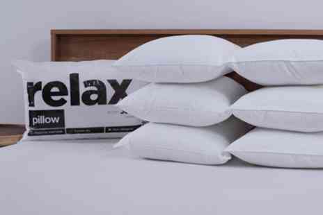 Groupon Good - Pack of Six Relax Pillows - Save 78%