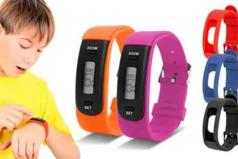 Groupon Goods Global GmbH - AQ111 Kids Fitness Tracker - Save 42%