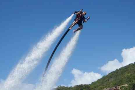 Jetlev Flyer - Water Jet Pack Flying Experience - Save 8%