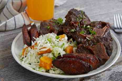 Absolute Jerk - Caribbean Meal with Drink for Two or Four - Save 28%