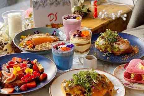Double Shot Coffee Co - Brunch Meal with Optional Glass of Prosecco for Two or Four - Save 33%