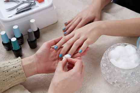 AJR Beauty and Aesthetics - Manicure or Pedicure or Both with Gelish Polish Finish - Save 52%