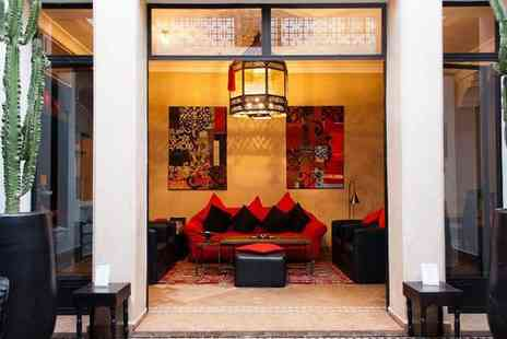 Riad Akka - Contemporary Riad with Outdoor Pool near Jamaa El Fna Square for two - Save 63%