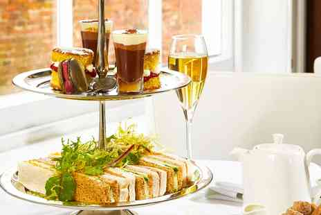 The Lace Market - Afternoon tea for 2 with bubbly in Nottingham - Save 48%