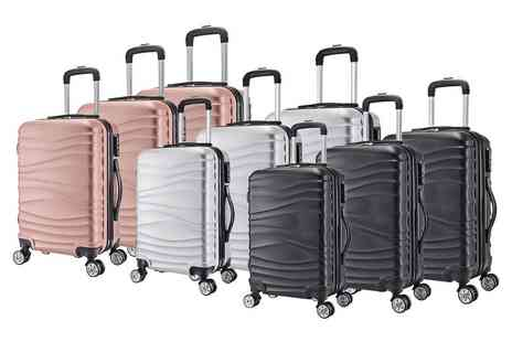 Direct Sourcing Project - Three piece wave luggage set - Save 0%