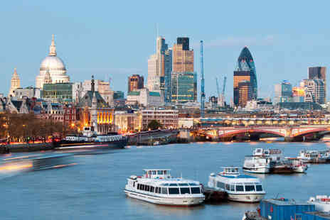 Thames River Services - Childs return ticket for a Westminster Greenwich Thames boat tour - Save 44%