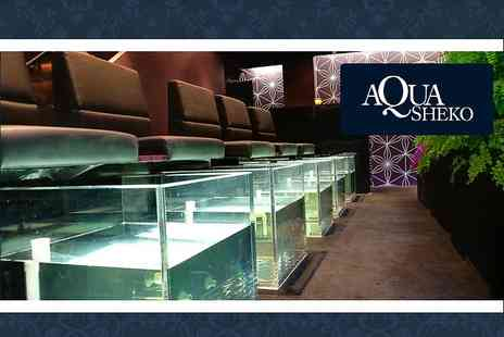 Aqua Sheko - £12 for a relaxing Fish Pedicure including tea and snacks (worth £30) - Save 60%