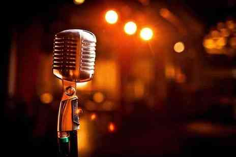 The Covent Garden Comedy Cellar - Live comedy for two people including a pizza and a Champagne cocktail each - Save 58%