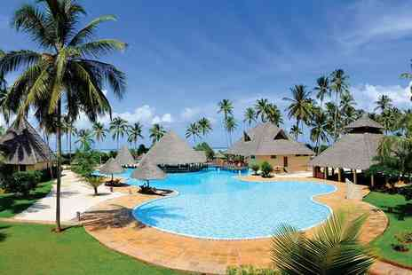 Neptune Pwani Beach Resort - Five Star All Inclusive Relaxation in Traditional Style - Save 0%