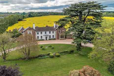 Glewstone Court Country House - Charming Grade II Listed Georgian Manor for two - Save 58%