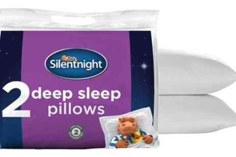 Groupon Good - Two, Four or Six Pack of Silentnight Deep Sleep Pillows - Save 57%