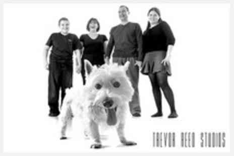 Trevor Reed Studios - Family Photo Shoot With Three Prints - Save 50%