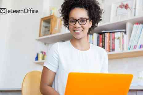 eLearnOffice - Online Microsoft Office Bundle of Courses Including Excel with Lifetime Access - Save 88%