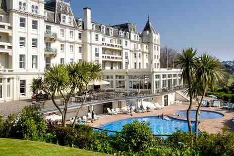 The Grand Hotel - Devon stay with dinner, wine and sea views - Save 0%