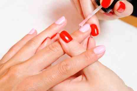 Bounce Salon - Gel Manicure with Optional Gel Pedicure - Save 60%