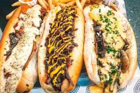 Jakes Vegan Steaks - Vegan Cheesesteak with Fries and Drink for One or Two - Save 40%