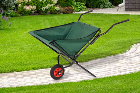 Who Needs Shops - Folding garden wheelbarrow - Save 70%