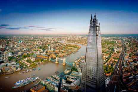 Gordon Ramsays Street Pizza - The View from The Shard and Bottomless Pizza for Two - Save 0%