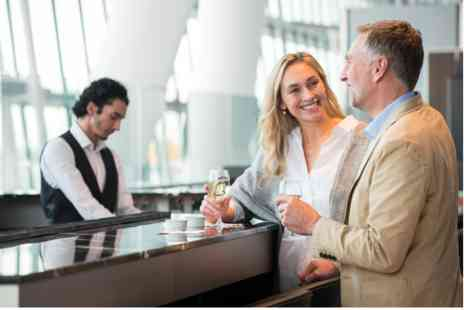 London Heathrow Airport - Plaza Premium Lounge Experience for Two with a Bottle of Prosecco - Save 0%