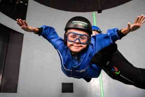 Twinwoods Adventure - Two Indoor Skydiving Experiences for One - Save 28%