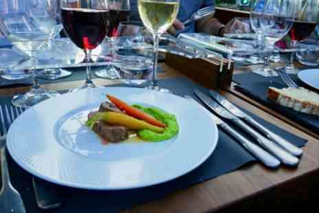 Bustronome - Four Course Lunch with Wine Pairing and London Bus Tour - Save 25%