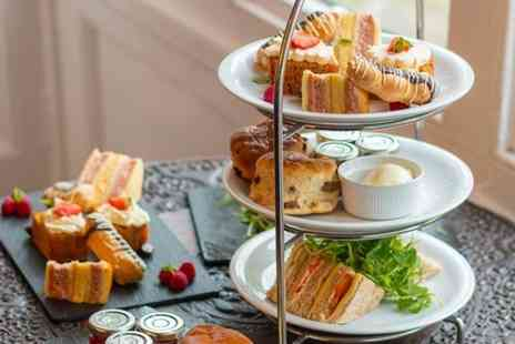Ruthin Castle Hotel - Afternoon tea with a glass of Prosecco each - Save 72%
