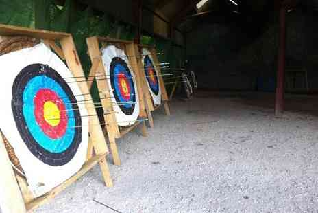 Mountain Monkeys - Two hour target sports session for two including archery and air rifle shooting - Save 53%