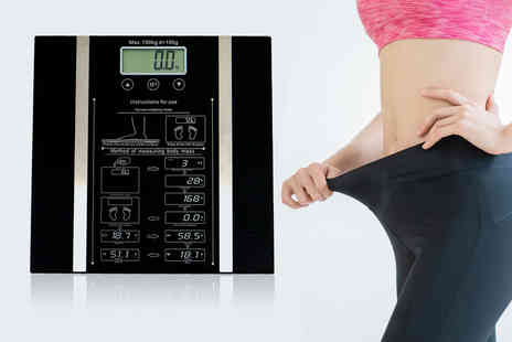 Who Needs Shops - 150 kg digital bathroom scales - Save 73%