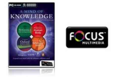 WooHooDeal - A Mind Of Knowledge 2nd Edition 5 CDs Encyclopaedia Britannica - Save 55%