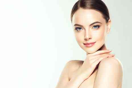 Soul Retreat - Luxury dermaplaning facial package with hyaluronic mask and pressure point head and neck massage - Save 55%