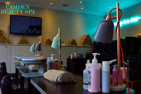 Camden Beauty Spa - Six sessions of laser hair removal on one area - Save 87%