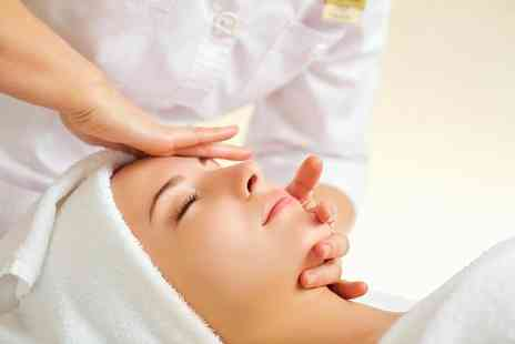 HK Aesthetics - Dermaplaning facial with double cleanse and serum - Save 72%