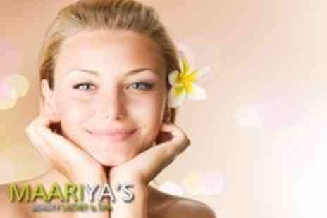 Maariyas Beauty Secret & Spa - Luxury facial plus a head, neck and shoulder massage - Save 67%