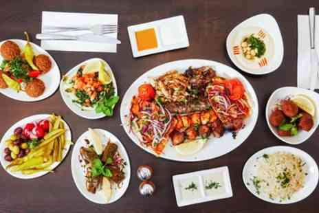 Aya Lebanese Cuisine - Three Course Lebanese Meal for Two or Four - Save 52%