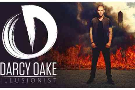 Darcy Oake - Britains Got Talent and World Class Illusionist on 31st March - Save 55%