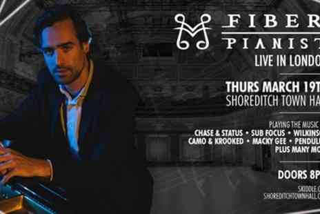 The Fiber Pianist Live in London - One balcony or stalls ticket Drum & Bass in Concert on 19th March 2020 - Save 42%