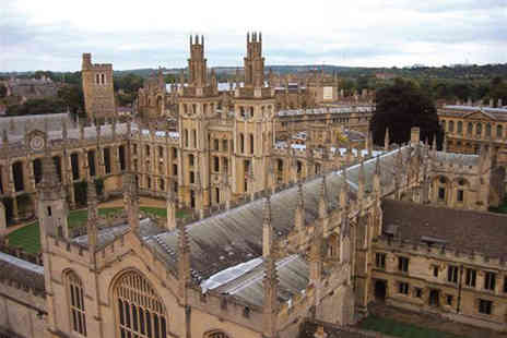 Golden Tours - Full day tour of Oxford, Stratford upon Avon, the Cotswolds and Warwick Castle for one person - Save 48%