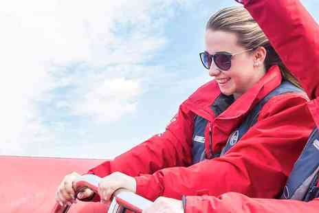 Thames Rockets - The Award Winning Thames Speedboat Adventure, Mums Go Free - Save 38%