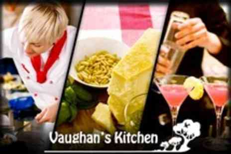 Vaughans Kitchen - Canape and Cocktail Making Workshop - Save 61%