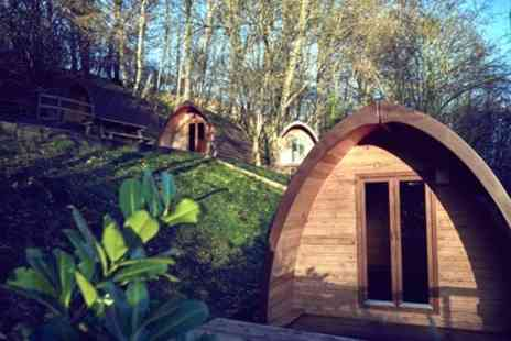 Mountain Edge Shropshire - 1 or 2 Nights Glamping Pod Stay for Two with Optional Dinner and Early Check In - Save 0%