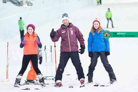 Chill Factore - 50 minute ski or snowboard taster session for one person - Save 36%