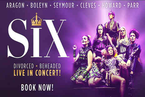 Just Book Sports - Overnight London stay and Six the Musical theatre tickets - Save 0%