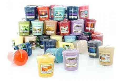 Groupon Good - 12 Assorted Yankee Candle Spring and Summer Fragrance Votives - Save 58%