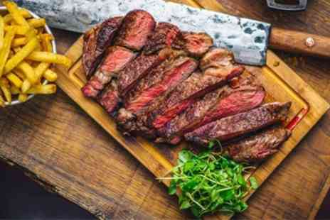 Seggaris - Two Course Steak Meal with Optional Wine for Up to Four - Save 47%