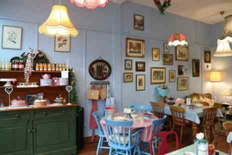 Marys Vintage Tea Room - Cream Tea for Two or Four - Save 33%
