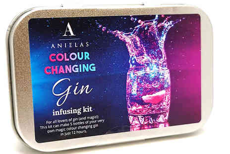 Bentleys Bargain Warehouse - Colour Changing Gin Infusion Kit - Save 14%