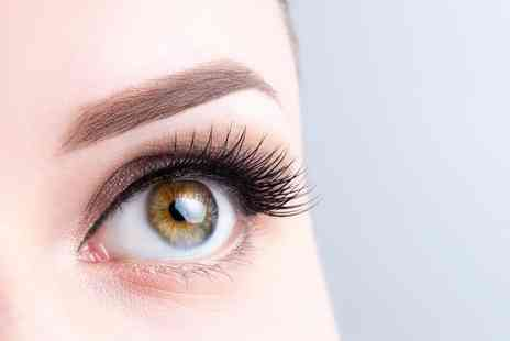 Absolutely Fabulous - Brow lamination and Russian semi permanent individual eyelash extensions - Save 37%